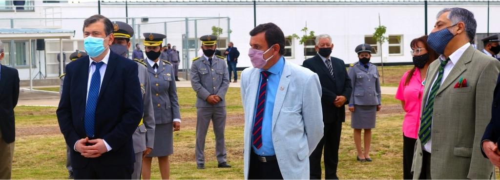 El Defensor General presente en la inauguración del Complejo Penitenciario Provincial de Colonia Pinto