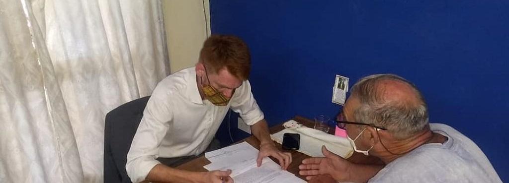 Exitosa jornada del programa Ministerio Público Móvil en Nueva Esperanza