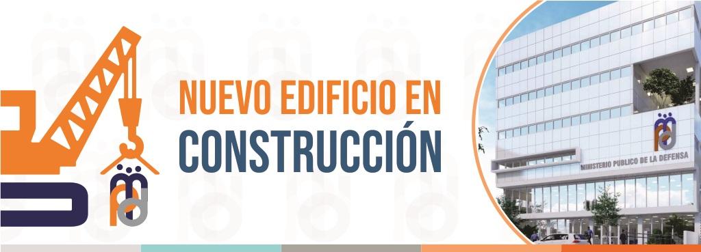 Construcción del nuevo edificio del MPD